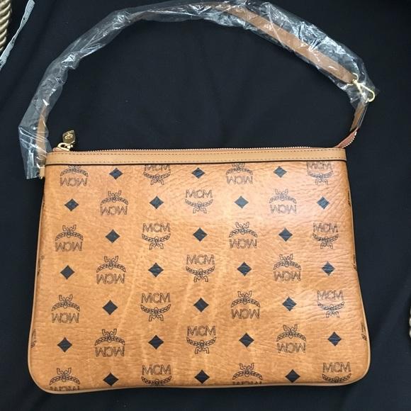 cde2cc87245e8 Authentic MCM pouch/ clutch bag. Listing Price: $230.00