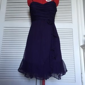Purple Rebecca Taylor Dress