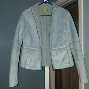 Baby blue jacket. Great condition.