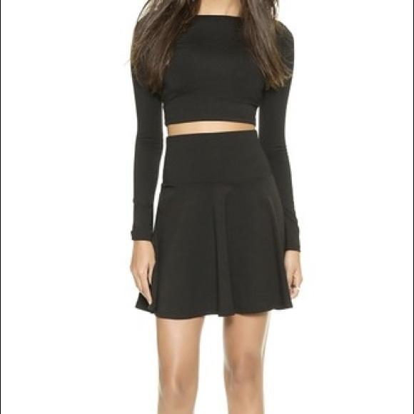 a3b7c44a5d Susana Monaco High Waisted Flare Skirt. M_577c1618c2845673a700afcf