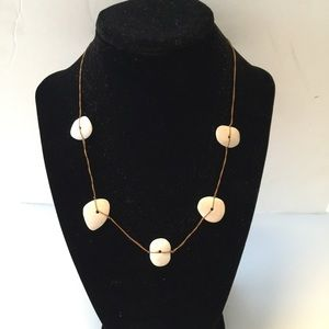 Jewelry - Coral stone Necklace