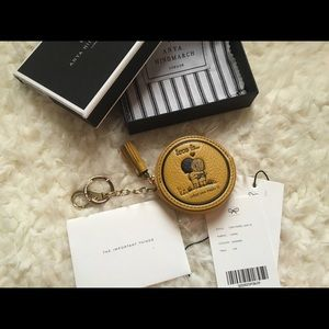 """Anya Hindmarch Accessories - Anya Hindmarch """"Love Is..."""" Coin Purse"""