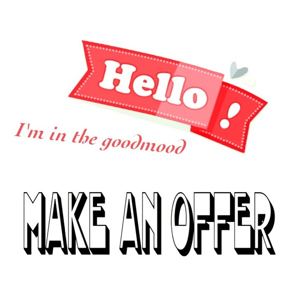 Other - ❌I'm in the good mood! MAKE AN OFFER❌