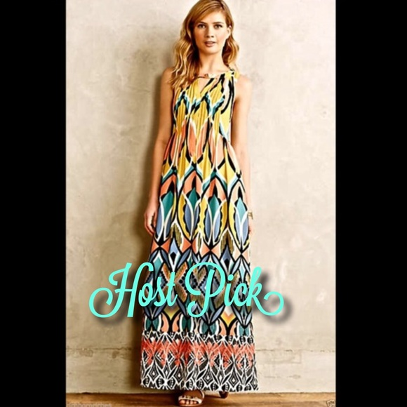 046d7782321c Anthropologie   Floreat sleeveless Maxi Dress 2