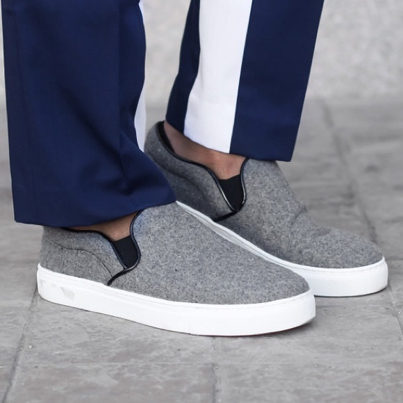 Céline Wool Slip-On Sneakers under 50 dollars 2014 newest clearance outlet store ZU9g4Yl