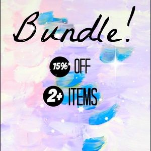 Bundle and save! 💕👛💕 Pay only one shipping fee!