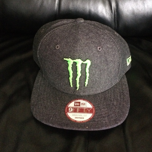 Authentic Monster Energy Athlete SnapBack. a7083eb1d9a