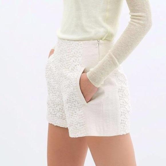 classico cerca l'autorizzazione fabbricazione abile Zara Shorts | High Waisted Lace | Poshmark