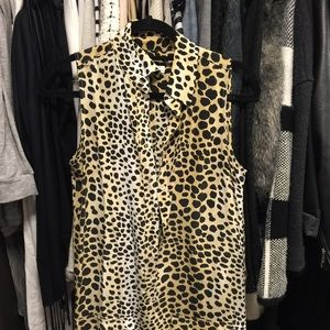 EQUIPMENT Leopard Mina Silk Dress