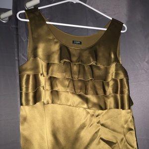J.crew sleeveless blouse