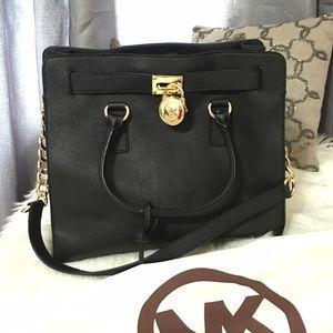 Michael Kors Handbags - Michael Michael Kors Hamilton Satchel
