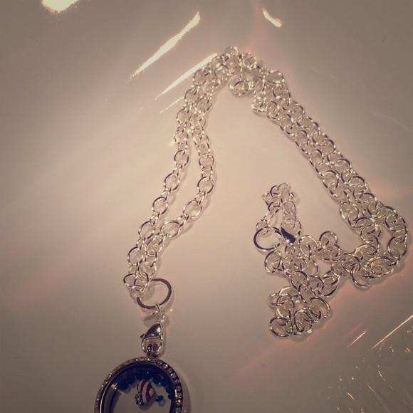 Origami Owl Jewelry Over The Heart Chain Poshmark