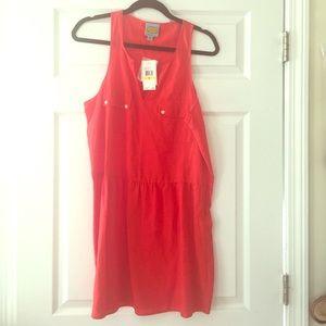 C&C California Dresses & Skirts - C&C California NWT red linen dress