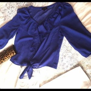 reduced price Royal Blue Blouse