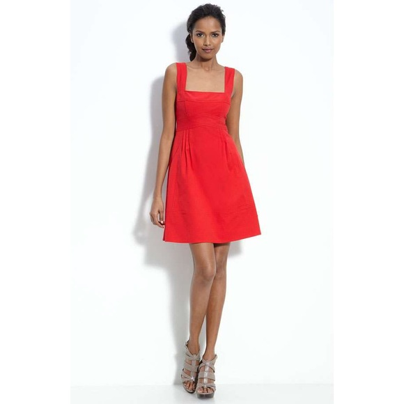 88% off Nanette Lepore Dresses & Skirts - Nanette Lepore Red ...