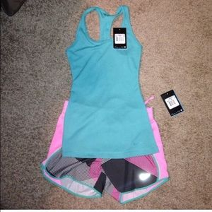 Brand new!! NIKE Shorts and NIKE tank top