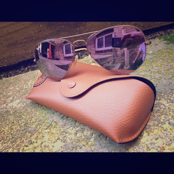b7cf789943e Ray-Ban Aviator Flash Lilac Mirror Lenses! 😎. M 577c45efb4188ed89b055869