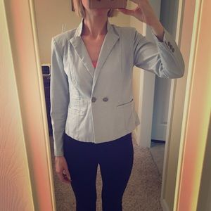 Cabi Wedgwood blue blazer
