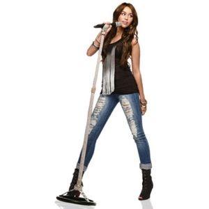 666c033731733 Miley Cyrus Max Azria Pants - Miley Cyrus Max Azria dark wash jeans