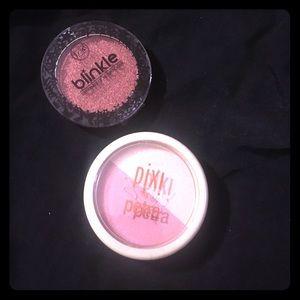 Pixi Other - Eyeshadow  and blush bundle