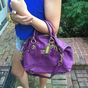 COACH fun purple bag!