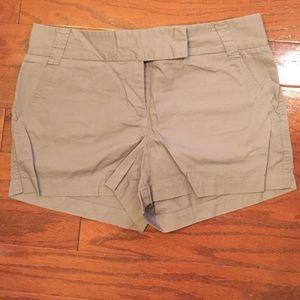 J.Crew Gray Chino Shorts