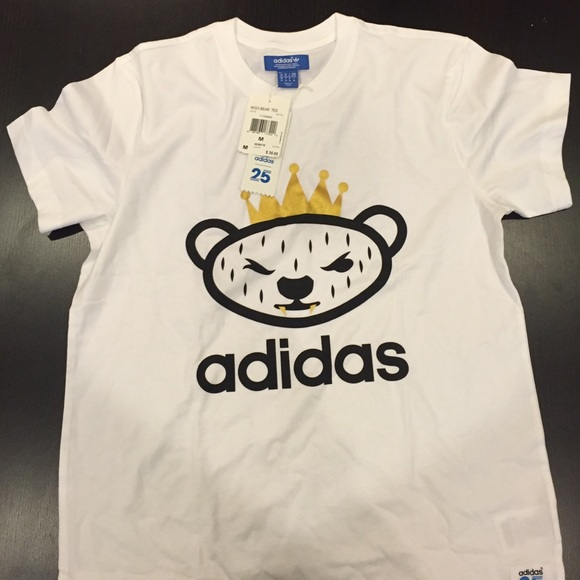 separation shoes 93e61 ff596 Adidas X Nigo Bear Tee. NWT