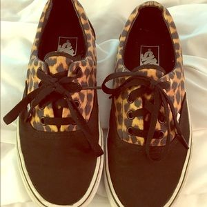 Vans Shoes - Cheetah print Vans