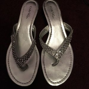 Wedge sandals! Size 6.5