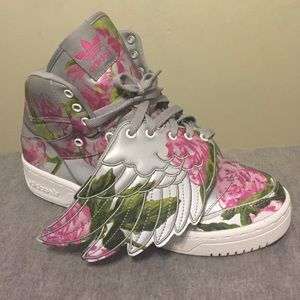 Jeremy Scott x Adidas Shoes - Jermey Scott Floral Wing