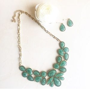 HWL Boutique Jewelry - Teal necklace