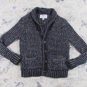 Rag & Bone for Neiman Marcus gray knitted cardigan