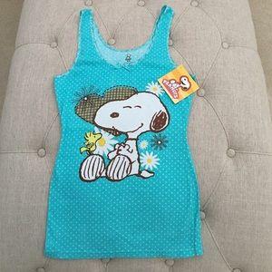 Peanuts Tops - 🆕 NWT: Snoopy Tank Top