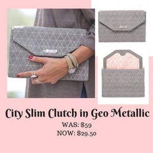 61 off stella dot handbags stella dot city slim for Stella and dot net worth