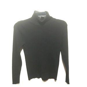 Allie & Rob Sweaters - Black turtleneck long sleeve sweater❤️