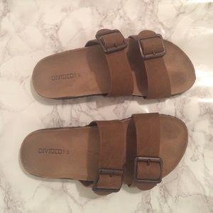4b605f9356c6 H M Shoes - H M Brown Slides (Birkenstock Inspired)