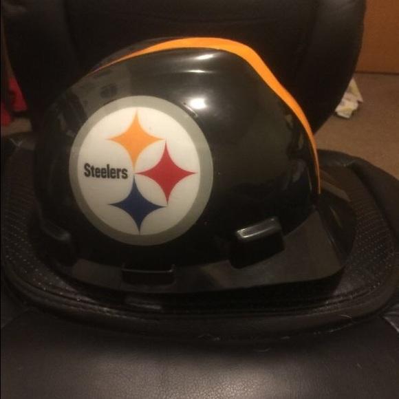 db45d7c7b MSA OSHA Pittsburgh Steelers Hard Hat Size Medium