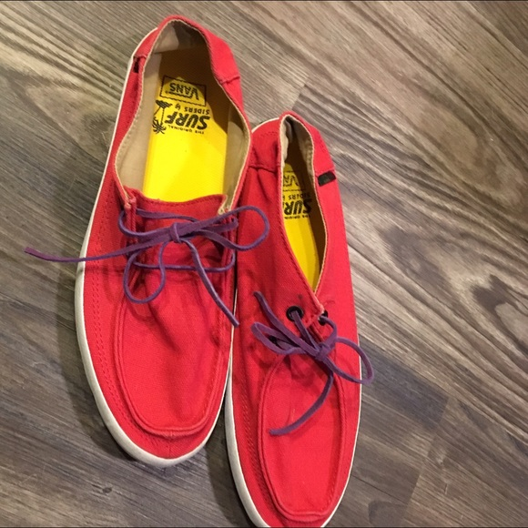 Men's Vans Surf Siders shoes