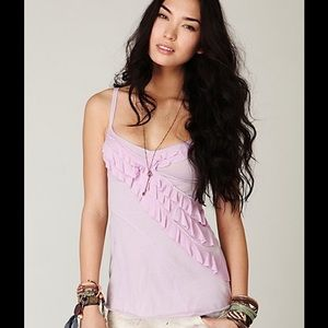 Free People Seamed Up Tunic Orchid