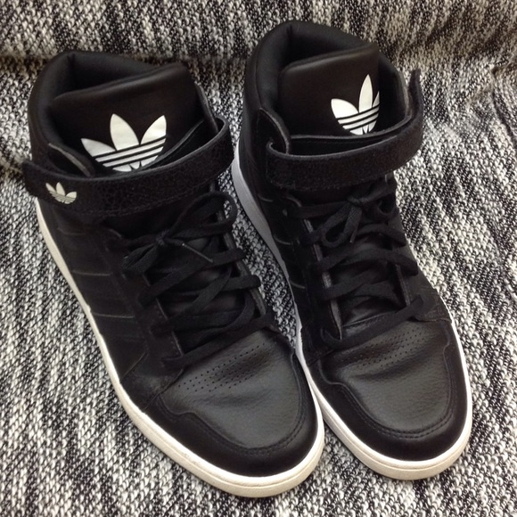 adidas high tops with strap
