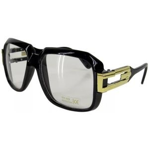 Black frame gazelle sunglasses