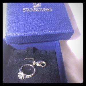 SWAROVSKI Crystal Rhinestone Charm Ring.