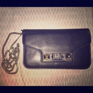 Proenza Schouler Handbags - Proenza Schouler PS11 leather chain wallet black