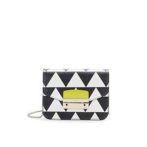 Furla Multicolour blocked mini Crossbody