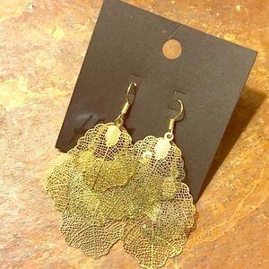 H&M Gold Dangle Earrings