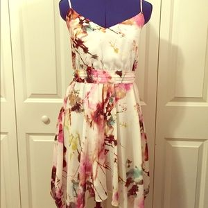 Guess watercolor summer dress 
