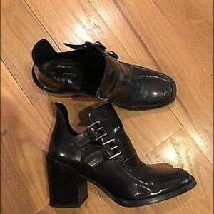 Zara booties like new