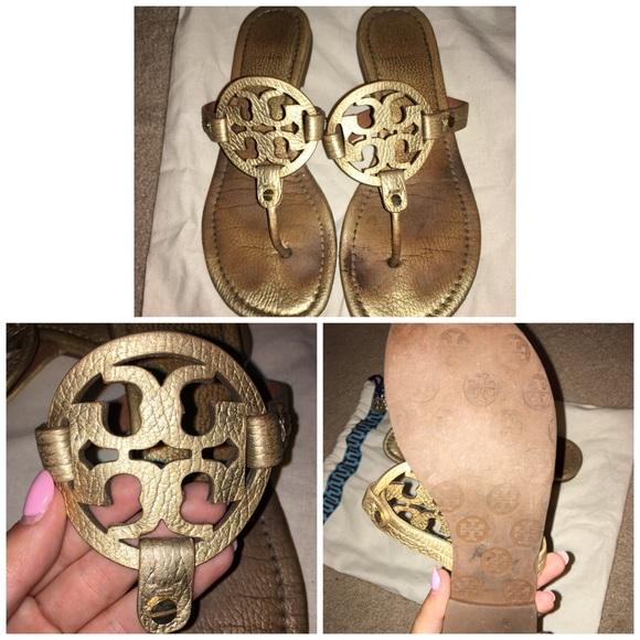 c01c9fe11d9 Used miller Tory burch sandals. M 577cf6d72599fe4476000249