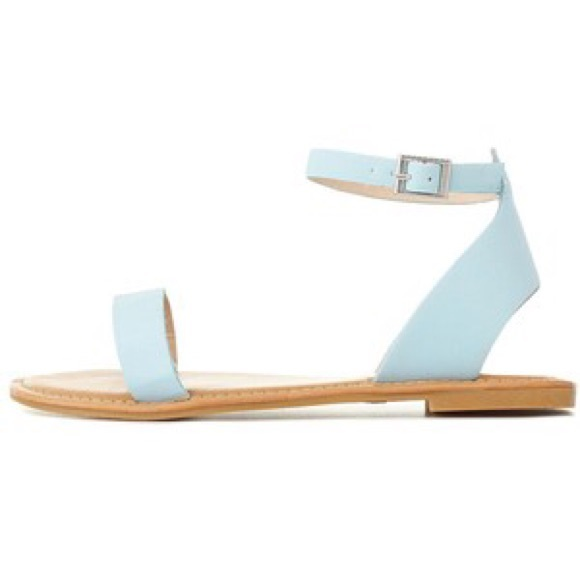 Open Toe Ankle Strap Flat Sandals Baby