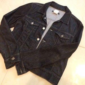 Theory Jackets & Blazers - Theory Jean Biker Moto Jacket